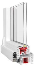 PSK-Tür ETRUM PRO mit Aluplast Ideal 7000